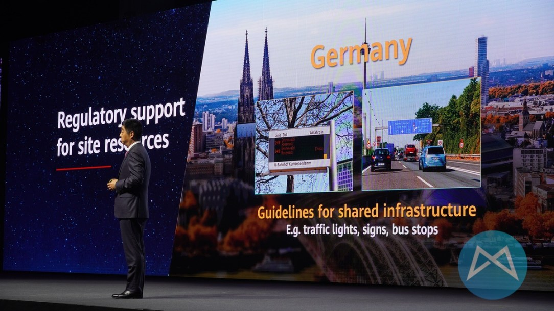 Huawei 5g Stadtmoebel
