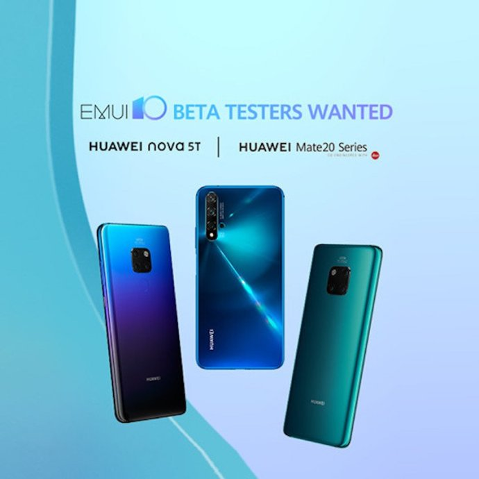 Huawei Mate 20 Pro Emui 10 Beta