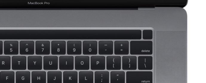 Macbook Pro 16 Tastatur
