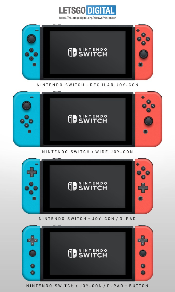 Nintendo Switch Joy Con Patente