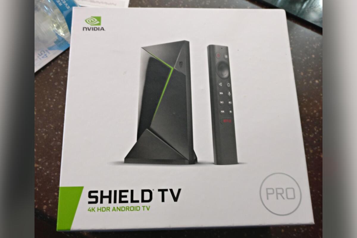 Nvidia Shield Tv Pro Box