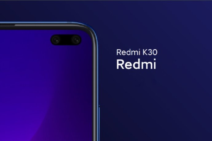 Redmi K30 Loch Display
