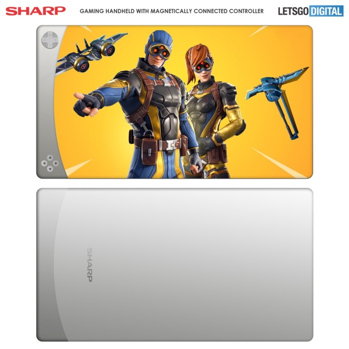 Sharp Handheld Patent2