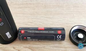 Zhiyun Gimbal Smooth Q2 Batterie
