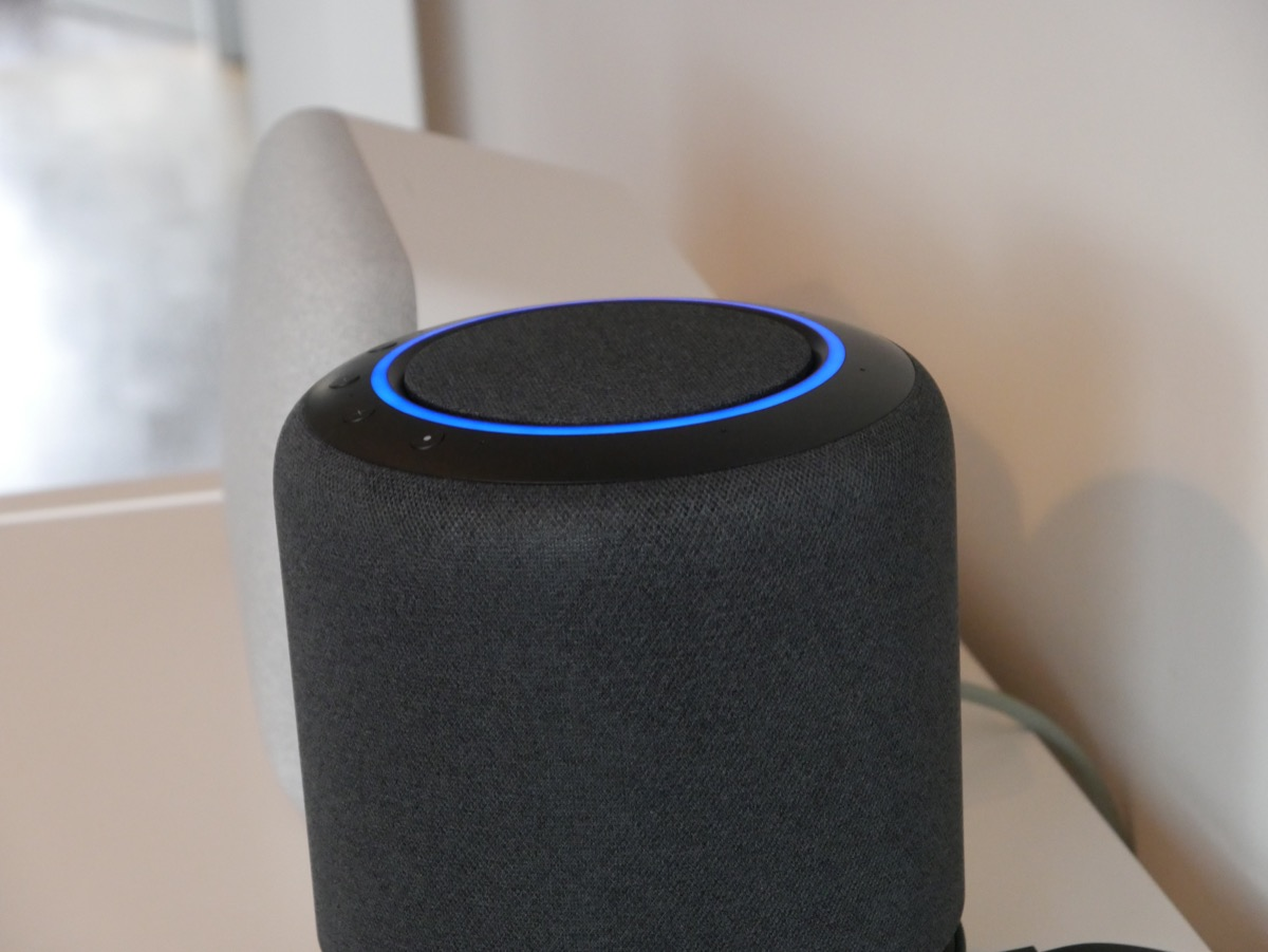 Amazon Echo Studio Alexa Test2