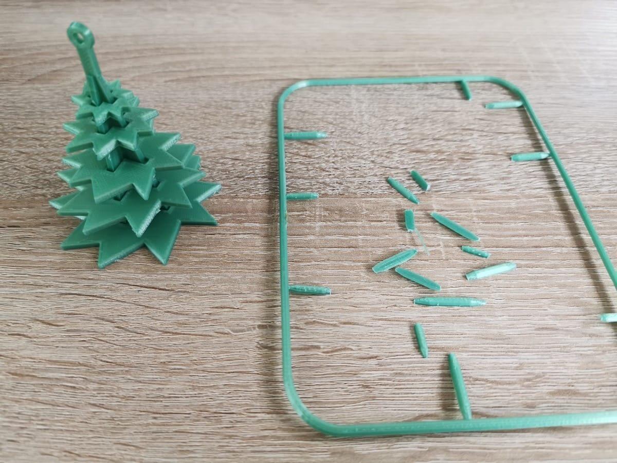 Drucksache Retro Weihnachtsbaum 3
