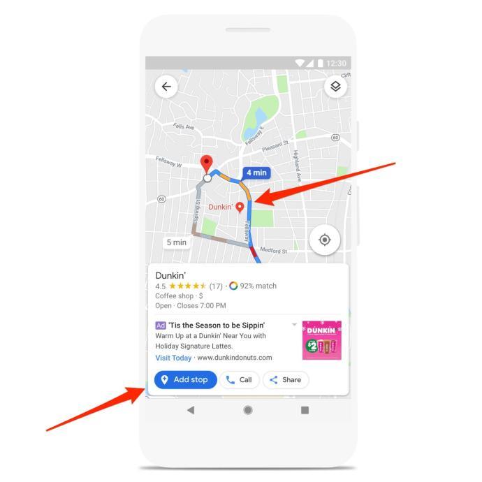 Google Maps Werbung Navigation