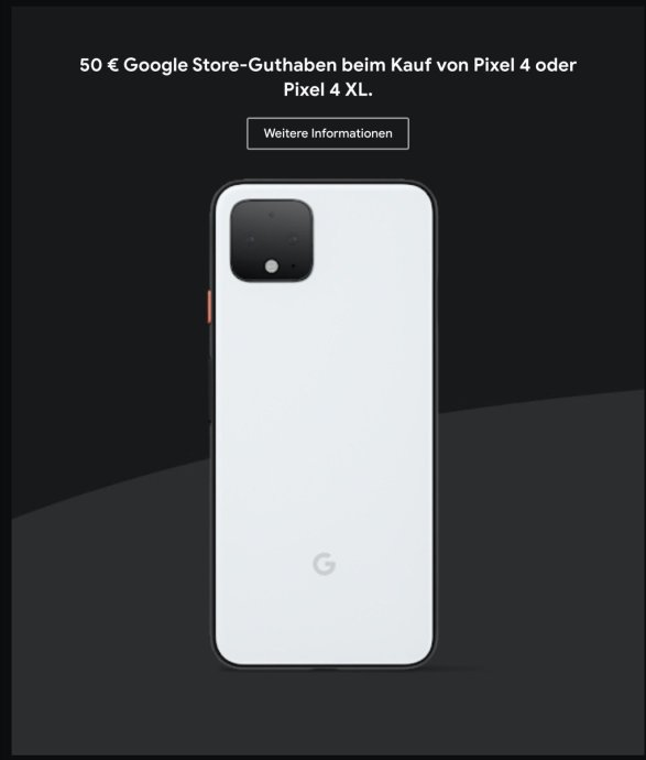 Google Pixel 4 Rabatt Black Friday 1