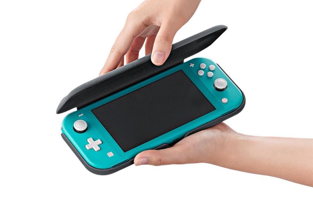 Nintendo Switch Lite Flip Cover Header