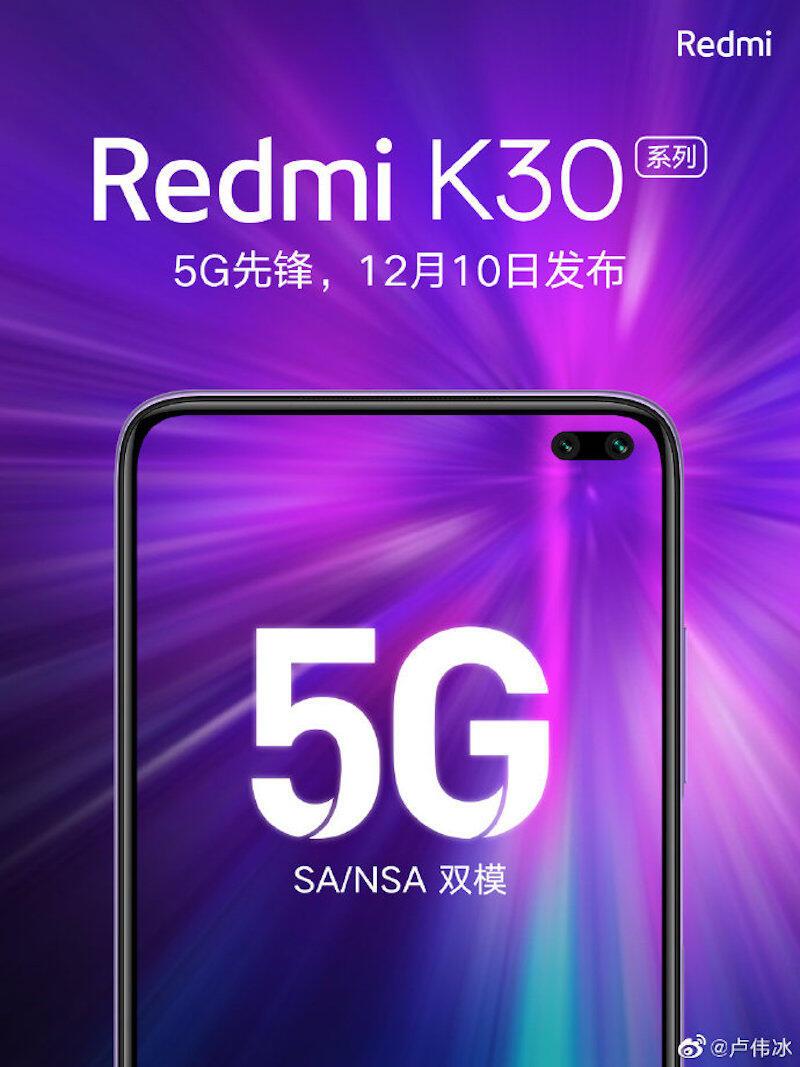 Redmi K30 Pro Event Teaser