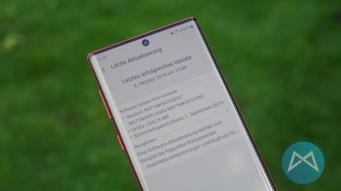 Samsung Galaxy Note 10 5g Update