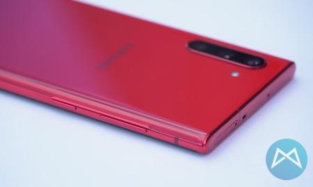 Samsung Note 10 Aura Red Tasten