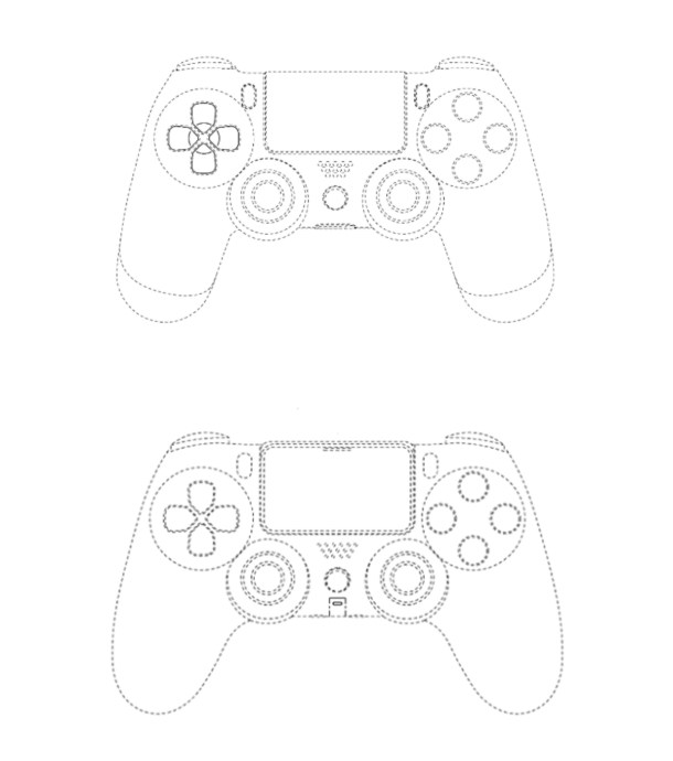 Sony Ps4 Ps5 Controller Patent