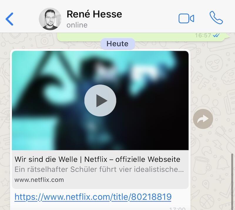 Whatsapp Netflix Trailer