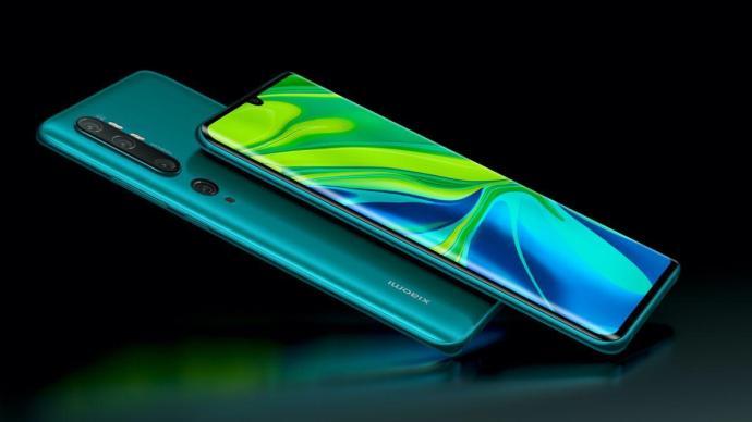 Xiaomi Mi Note 10 Pressefoto 1