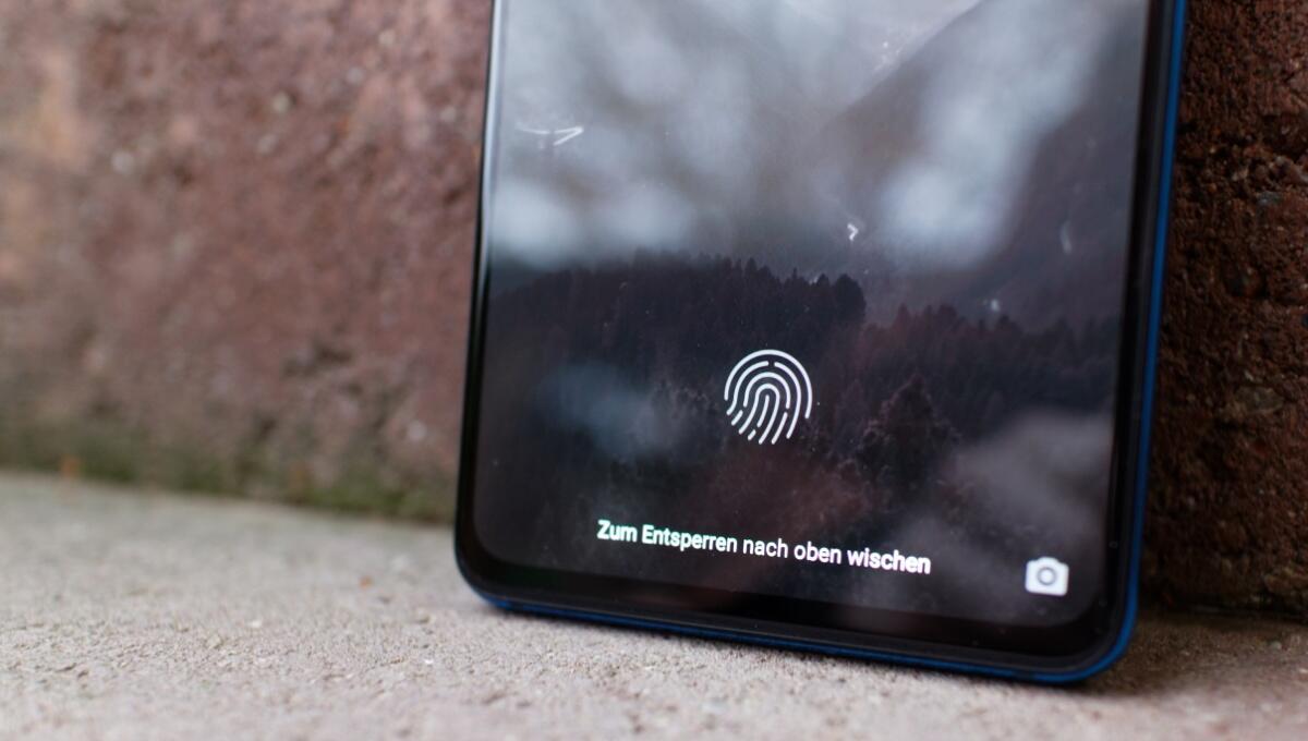 Xiaomi Mi 9t Pro Fingerprintsensor
