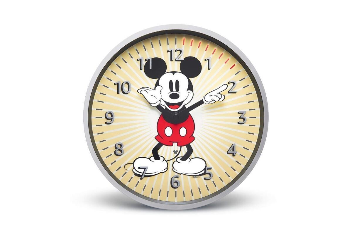 Amazon Echo Wall Clock Mickey Mouse Disney Edition
