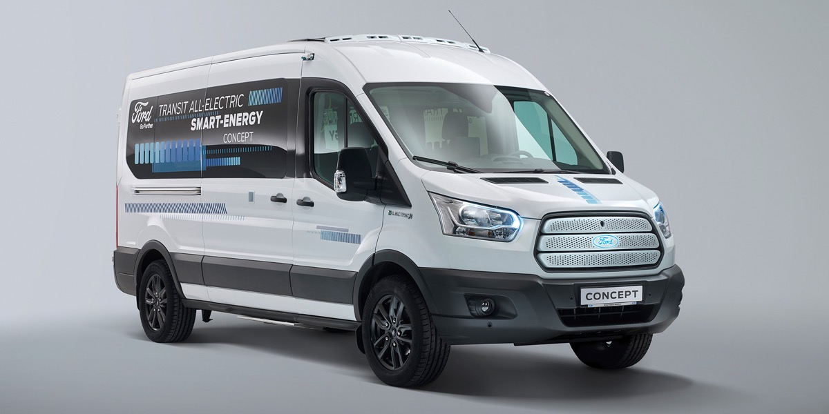 Innovative Transit Smart Energy Concept Is Helping Ford Find New Ways To Go Further In Future Electrified Vehicles