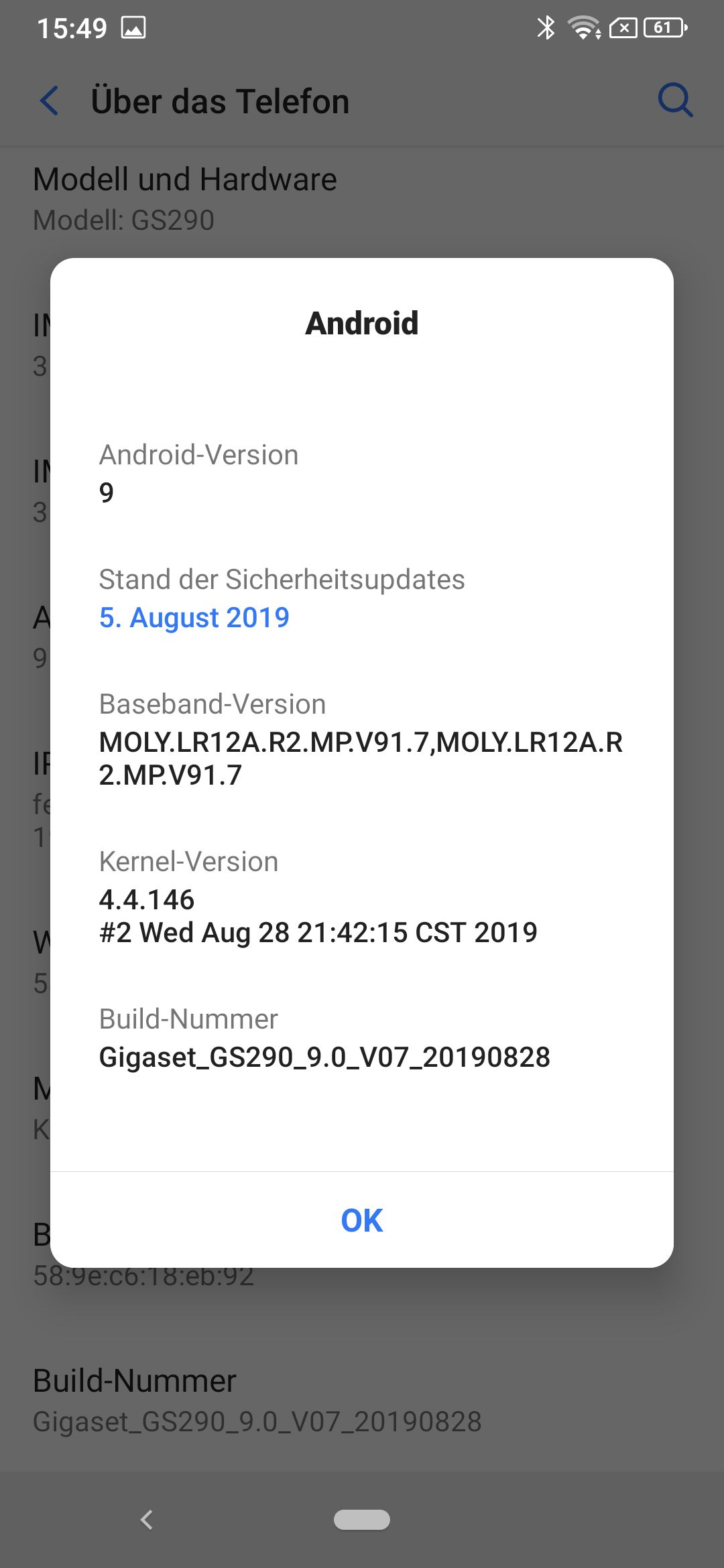 Gigaset Gs290 Androidversion