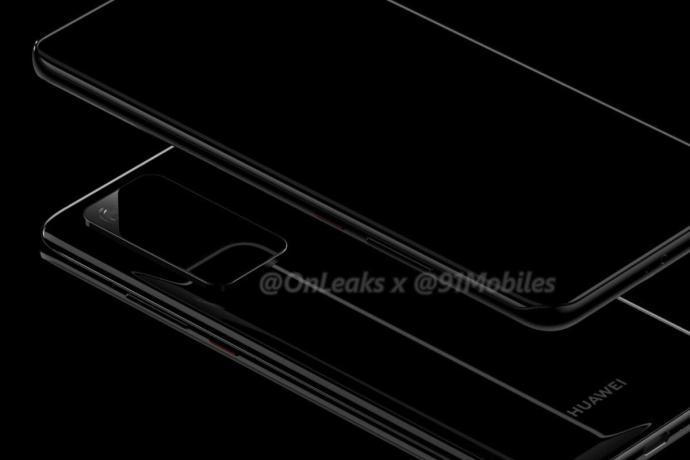 Huawei P40 Pro Leak Render