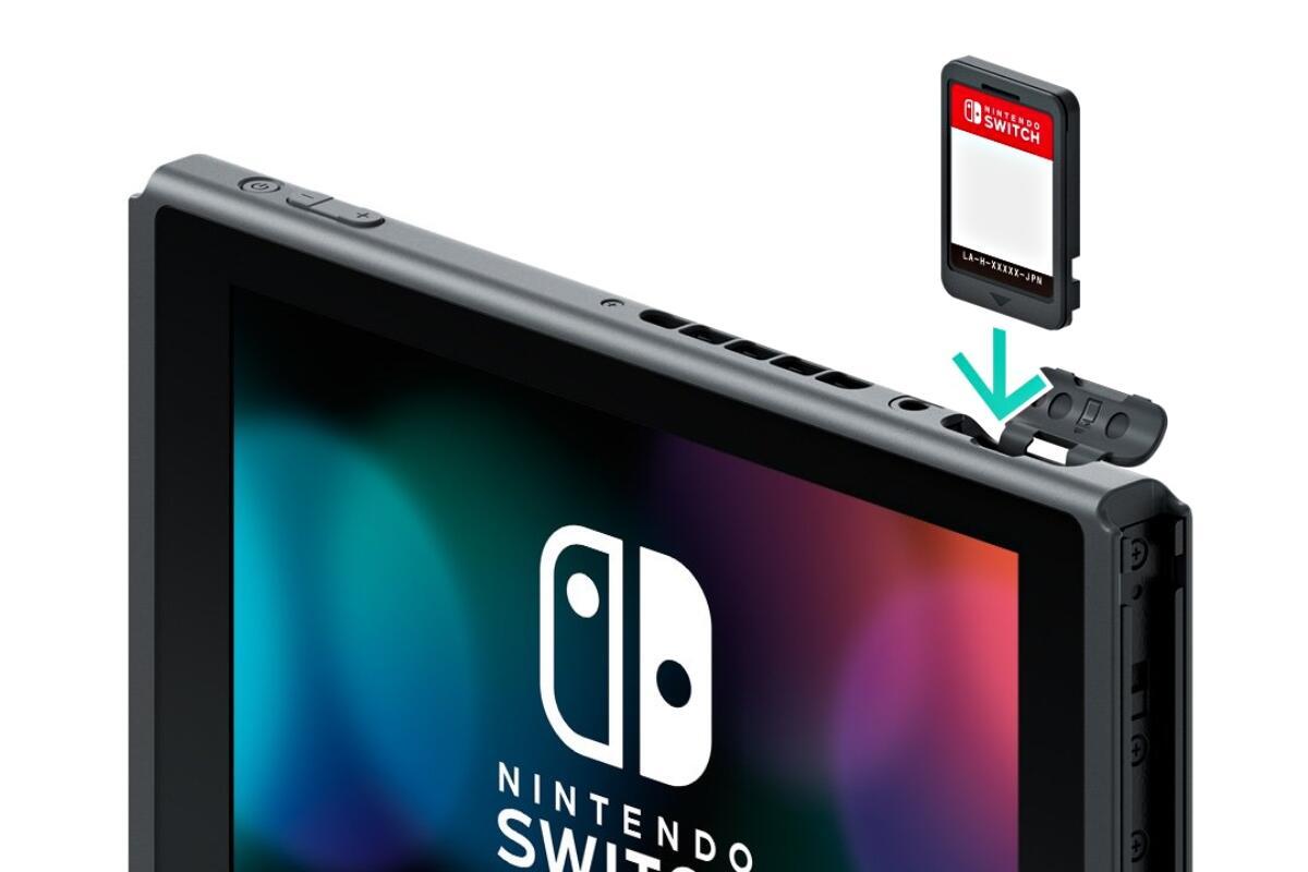 Nintendo Switch Game Spiel Karte