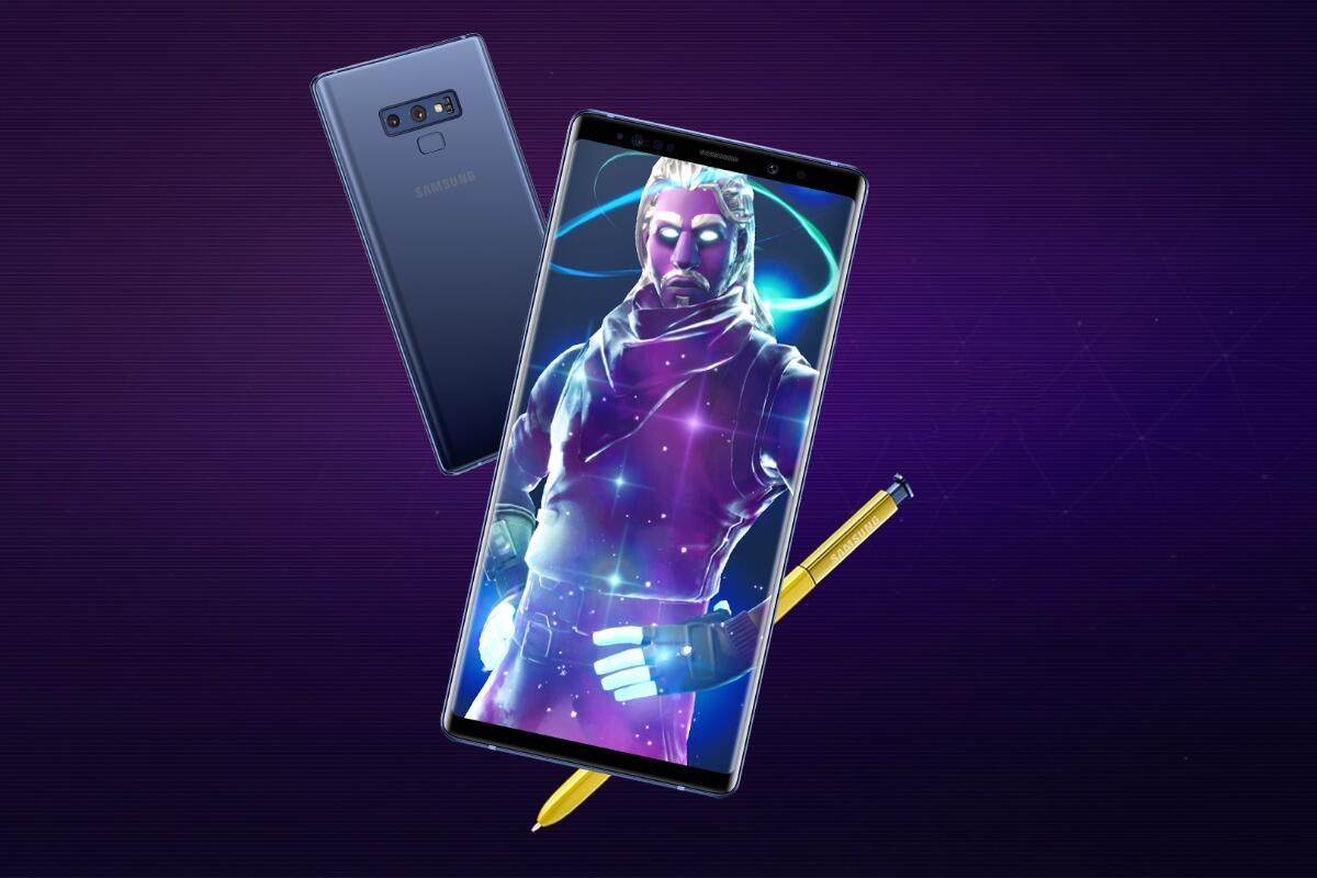 Samsung Galaxy Fortnite