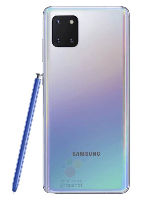 Samsung Galaxy Note 10 Lite Leak Weiss