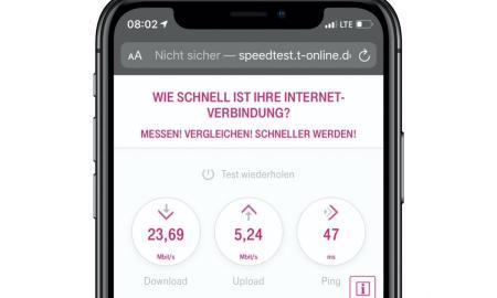 Telekom Speedtest Mobil