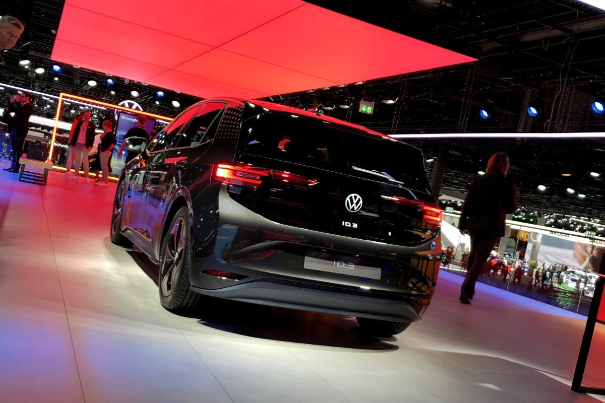 Vw Volkswagen Id 3 Header