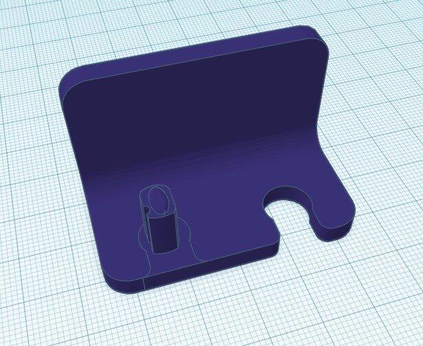 3d Design Zahnreinigungshalterung
