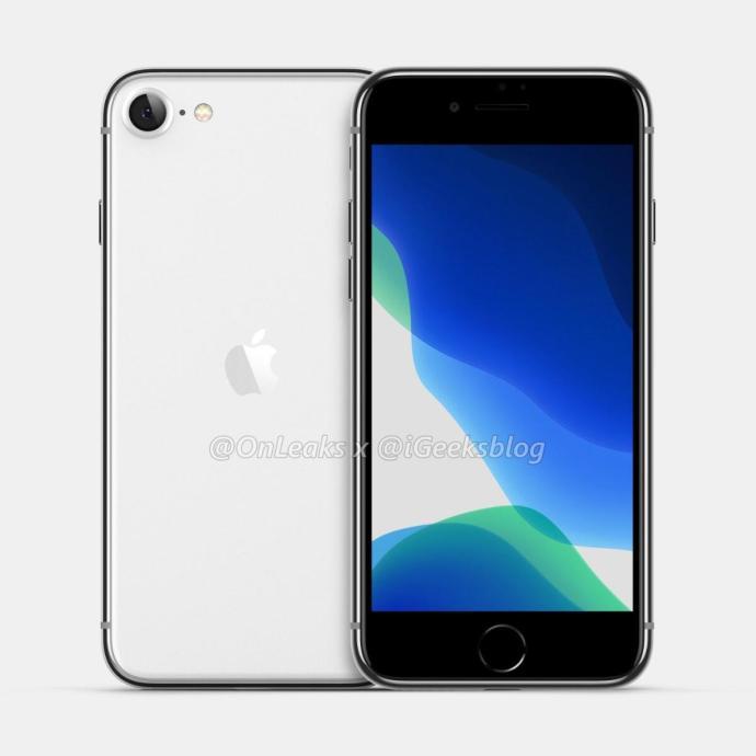 Apple Iphone Early 2020 Render Leak