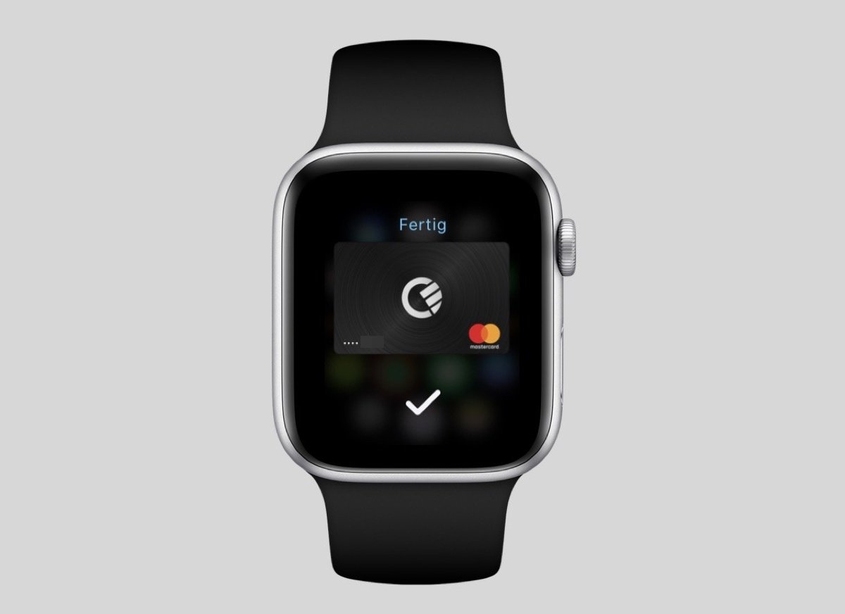 Apple Pay Curve Watch