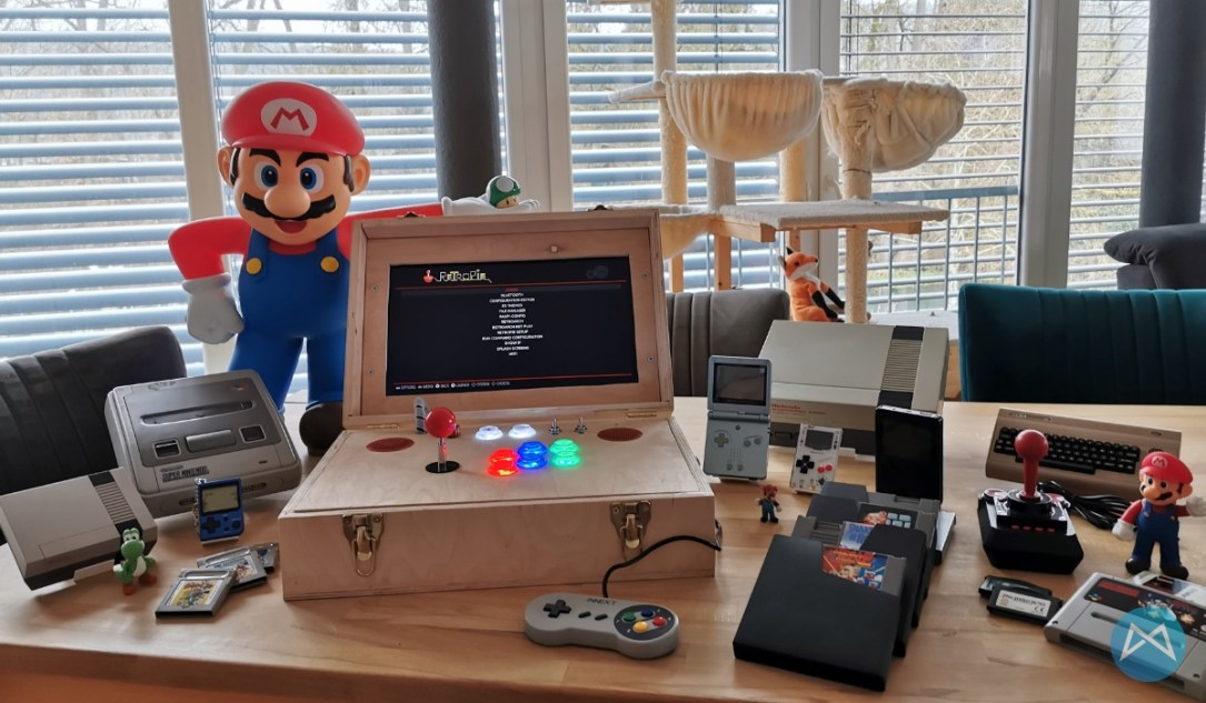 Gamebox Retropi Raspberrypi