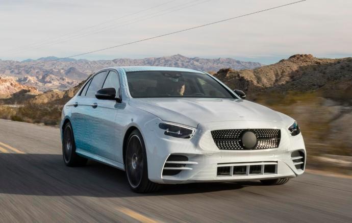 Mercedes Benz E Klasse 2020 Front