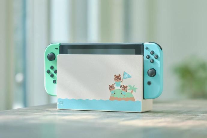 Nintendo Switch Animal Crossing Edition Header