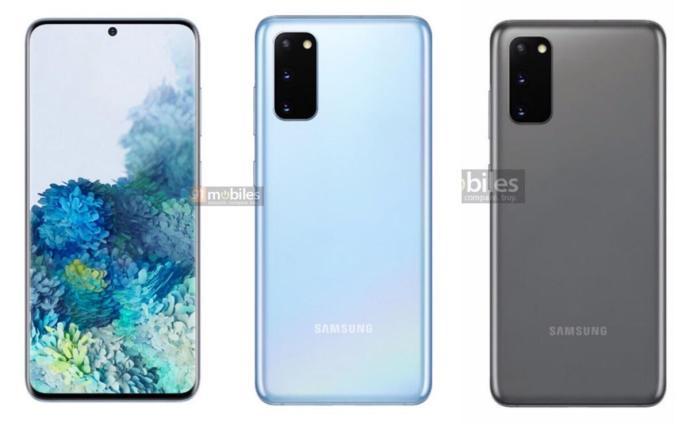 Samsung Galaxy S20 Leak Presse