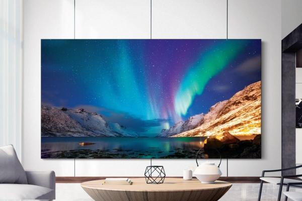 Samsung zeigt neue MicroLED-TVs