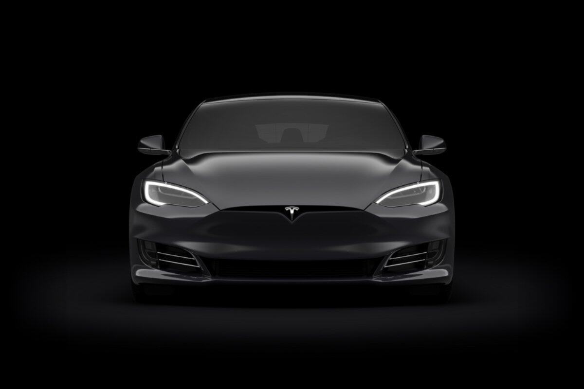 Tesla Model S Front Header
