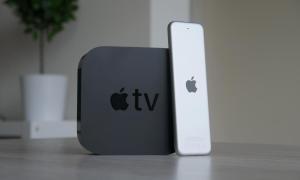 Apple Tv 4k Mit Fernbedienung Back