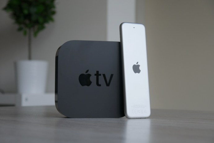 Apple Tv 4k Mit Fernbedienung Back