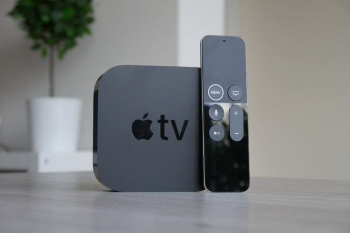 Apple TV 4k con mando a distancia
