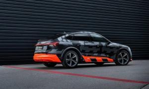 Audi E Tron Sportback S Back