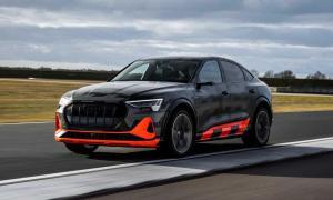 Audi E Tron Sportback S Front
