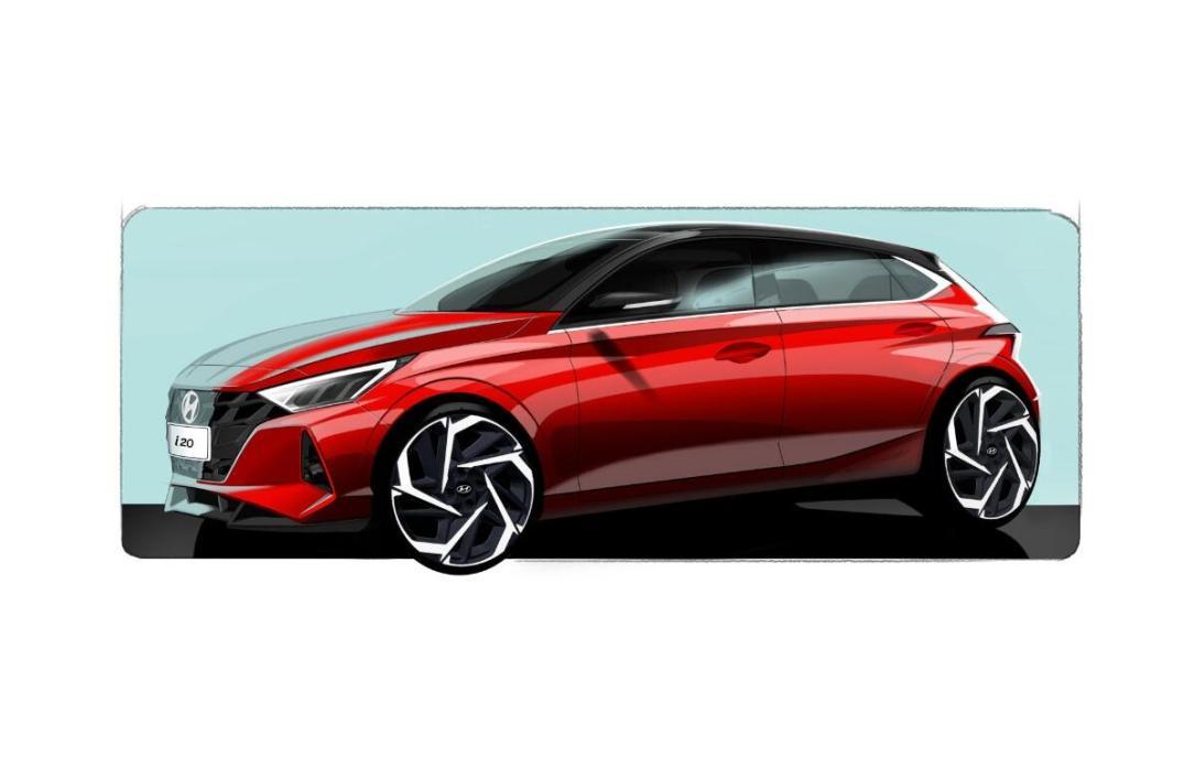Hyundai I20 Skizze Front