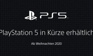 Playstation 5 Webseite