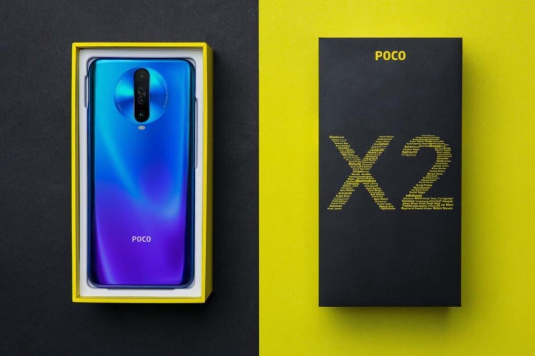 Poco X2 Header