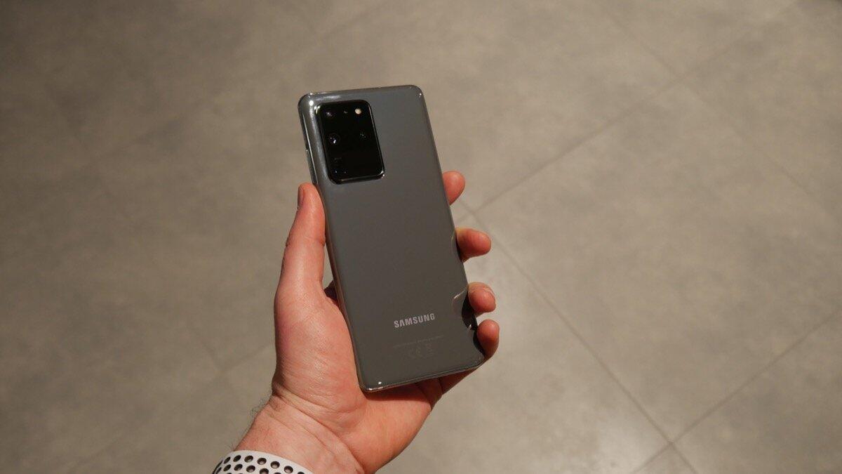 Samsung Galaxy 20 Ultra Eindruck1