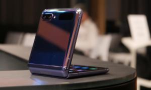 Samsung Galaxy Z Flip Eindruck1