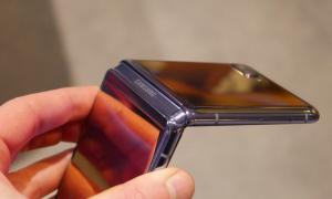 Samsung Galaxy Z Flip Eindruck9