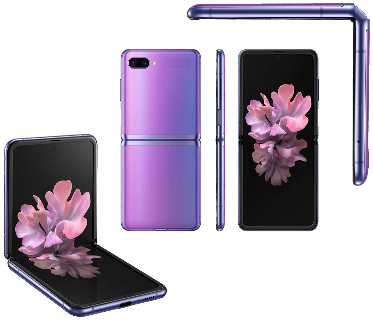 Samsung Galaxy Z Flip Violett